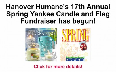 Hanover Humane's Spring 2016 Yankee Candle and Flag Fundraiser