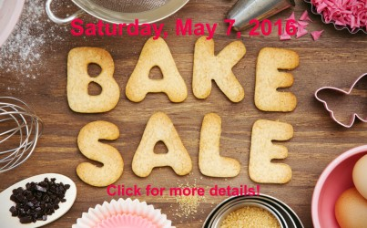 Bake Sale at Kroger