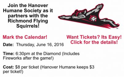 Richmond Flying Squirrels Fundraiser