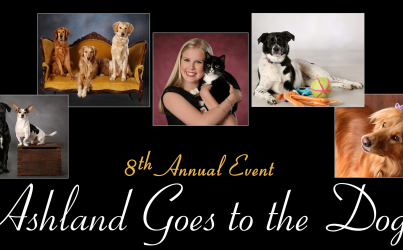 Eighth Annual Ashland Goes to the Dogs Photo Event