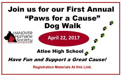 Paws for a Cause Dog Walk